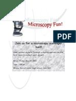 Microscope Flier