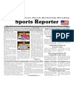 August 3 - 9, 2016  Sports Reporter