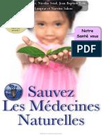 Sakon Sauvez Les Medecines Naturelles