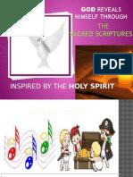 God Reveals Himself in the Sacred Scriptures
