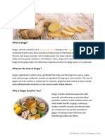 Proven Health Benefits of Ginger with Scientific Support
