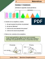 6to Grado - Matemáticas - Prismas y Pirámides