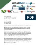 LA Homesharing Coalition Letter