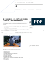 Is-10262-2009-Concrete Mix Design – Indian Standard Method _ Civilblog