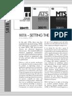 NETA Setting the Testing Standards