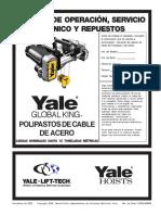 Manual de Operacion de Grua Viajera Yale 5T