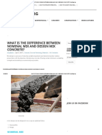 What is the Difference Between Nominal Mix and Design Mix Concrete_ _ Civilblog