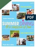 Summer Dining Supplement
