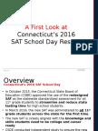 SAT School Day Results