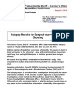 080316 Autopsy Results for Suspect Involved in Police Shooting