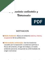 Patología - Enfermedades Ambientales y Nutricionales