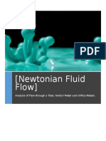 Fluids Lab Calculations