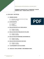 Geología y Geotecnia - Informe Final