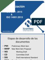 Actualización ISO 9001 & ISO 14001
