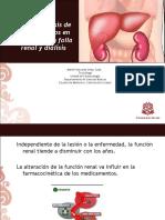 Ajuste Farmacologico en Enfermedad Renal y Dia--lisis
