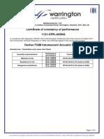 CoC JA5044 Fischer FiAM Sealant #2