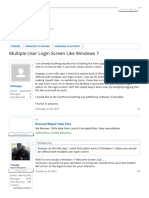 Multiple User Login Screen Like Windows 7 _ Windows 10 Forums