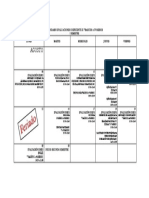 Recalendarización de evaluaciones coef 2-2016