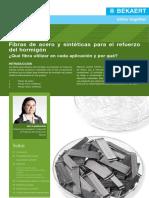 Steel vs Synthetic Fibre Reinforced Concrete (SP)
