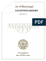 Osa 2015 Exceptions Report