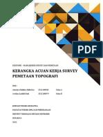 KAK Survey Topografi