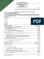 Test Pregatire ENVIII 2014 Matematica