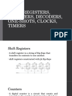 Shift Registers, Counters, Decoders, One-shots