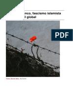 Sinpermiso-racismo Blanco Fascismo Islamista y Guerra Civil Global -2016!07!31
