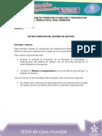 Actividad de Aprendizaje Unidad 2 - Informe