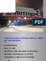 Haneda Airport Advertising (HND), Ad planning and buying for Tokyo airports