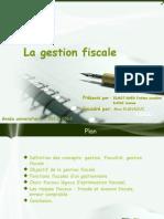 La Gestion Fiscale Finale