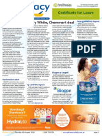 Pharmacy Daily for Thu 04 Aug 2016 - Terry White-Chemmart deal, PSA unveils new CPD tool, Ley to open ASMI conference, Travel Specials and much more