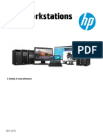 HP Z Workstations - Family Data Sheet
