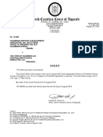 Order Allowing Amicus Brief; HHDA v. Town of Hildebran