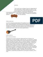 Tipos de Música de Gutemala