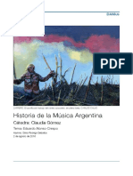 Historia de la música argentina, Alonso-Crespo