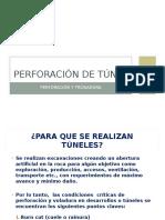 Perforación de Túnel_José Muñoz V.ppt