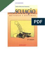 Musculação Métodos e Sistemas - Carlos Eduardo Cossenza - Livro