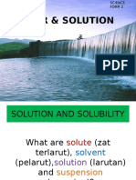 Water & Solution