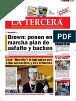 Diario La Tercera 04.08.2016