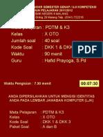 PDTM & K3 OTO X