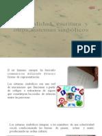 Lecto-5-Oralidad, Escritura y Otros Sistemas Simbólicos