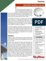 SkyWave DMR-800D Datasheet