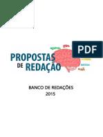 Propostas de Redação - Banco de Redações 2015.pdf