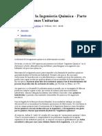 Operaciones Unitarios - Ing. Quimica