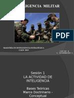 CAEN Inteligencia Militar Sesión