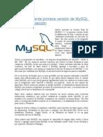 Novedades Mysql