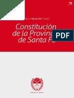 Constitución de La Provincia de Santa Fe