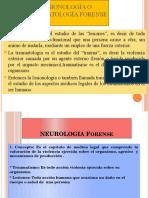 Lesionología o Traumatología Forense
