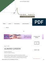 Masam Manis_ Almond London